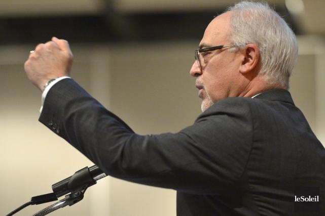 Le ministre des Finances Carlos Leitão... (Photothèque Le Soleil, Yan Doublet)