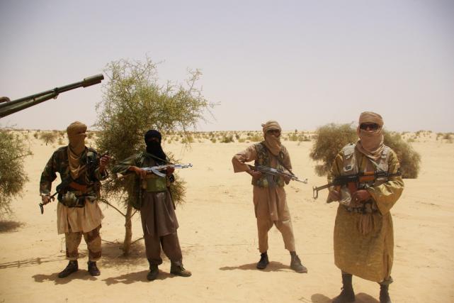 Ansar Dine fait partie des groupes islamistes qui... (PHOTO AP)