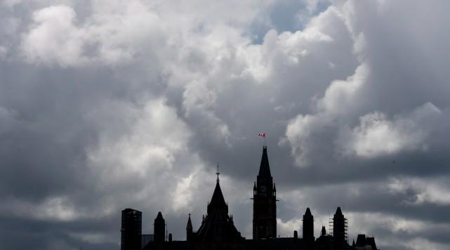 Les campagnes publicitaires partisanesexistent chez nous depuis plusieurs... (PHOTO ADRIAN WYLD, ARCHIVES LA PRESSE CANADIENNE)