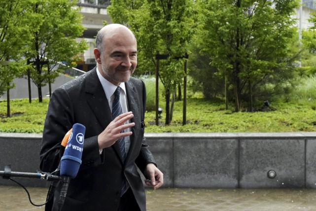Pierre Moscovici, ministre de l'Économie de mai 2012... (PHOTO REUTERS)