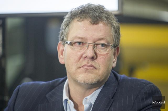 L'ex-directeur général du PLQ Joël Gauthier... (Photothèque Le Soleil)