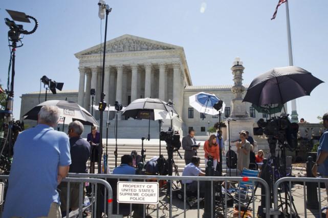 La Cour suprême a rendu plusieurs décisions d'importance... (PHOTO AP)