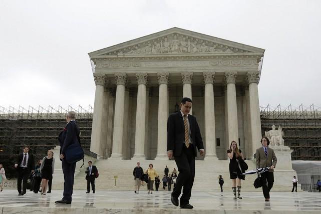 La Cour suprême des États-Unis... (PHOTO ARCHIVES REUTERS)