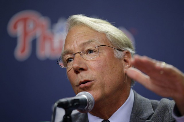 Andy MacPhail... (Photo Matt Slocum, AP)