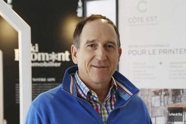 Le président de Ski Bromont Immobilier, Charles Désourdy... (photo archives La Voix de l'Est)