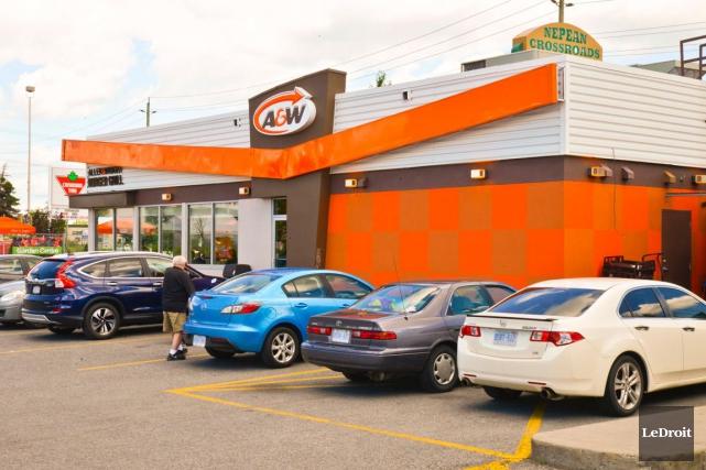 La chaîne A&W doit construire un restaurant à... (Martin Roy, LeDroit)
