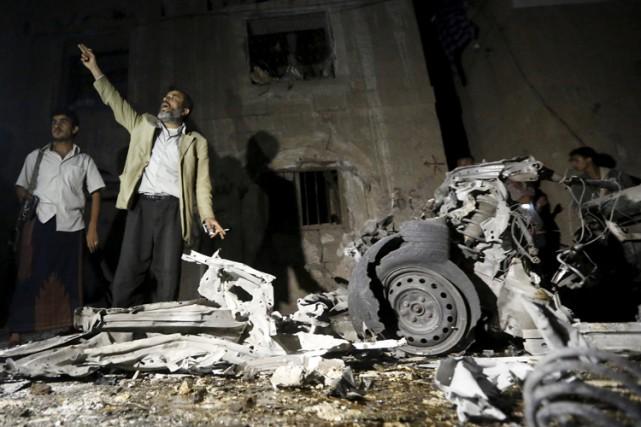 Au moins 28 personnes, dont huit femmes, ont été tuées dans un attentat dans la... (PHOTO REUTERS)