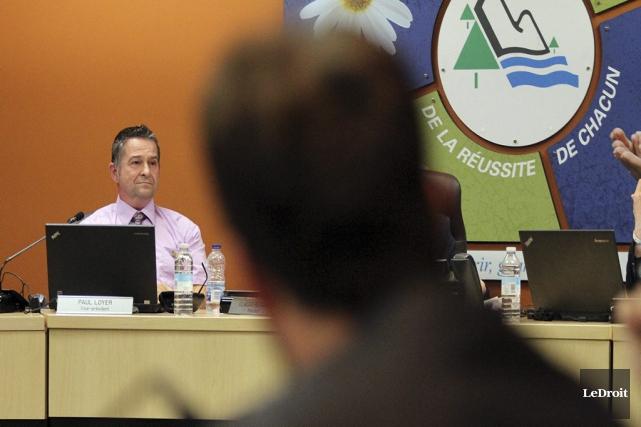Même le vice-président de la CSD, Paul Loyer,... (Etienne Ranger, LeDroit)