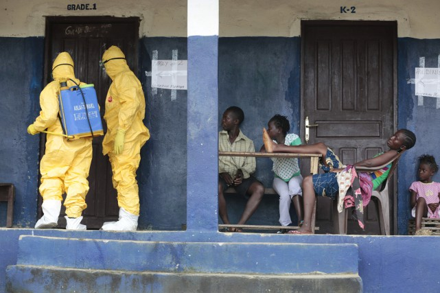 L'épidémie d'Ebola en Afrique de l'Ouest, la plus... (PHOTO JEROME DELAY, ARCHIVES AP)