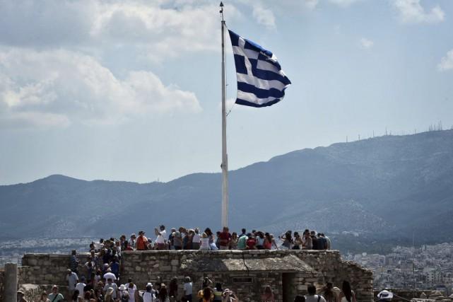 La Grèce a dit non à ses créanciers: que répondre à un pays qui ne veut pas -... (PHOTO LOUISA GOULIAMAKI, AFP)