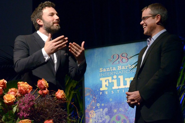 Ben Affleck et Matt Damon... (PHOTO ARCHIVES AP)