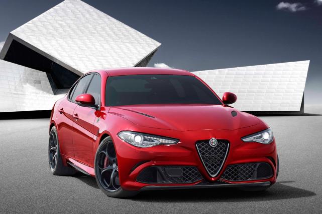 La Giulia d'Alfa Romeo est attendue en 2016... (Photo fournie par Alfa Romeo)