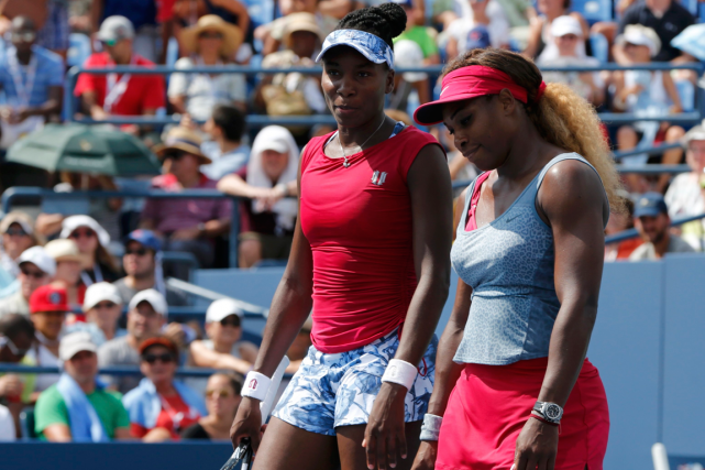 Venus et Serena Williams... (Photo Ray Stubblebine, archives Reuters)
