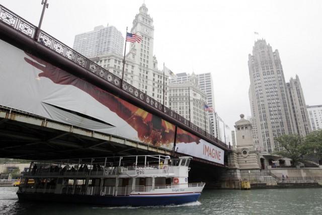L'ISM Chicago mesure la perception que les entreprises... (PHOTO KIICHIRO SATO, ARCHIVES AP)