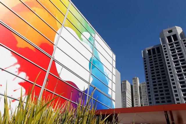 Le groupe informatique américain Apple n'a pas fourni de code source pour ses... (PHOTO TONY AVELAR, ARCHIVES AP)