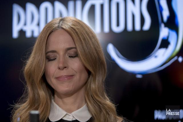 Julie Snyder affirme que sa compagnie, Productions J,... (Photo Patrick Sanfaçon, La Presse)