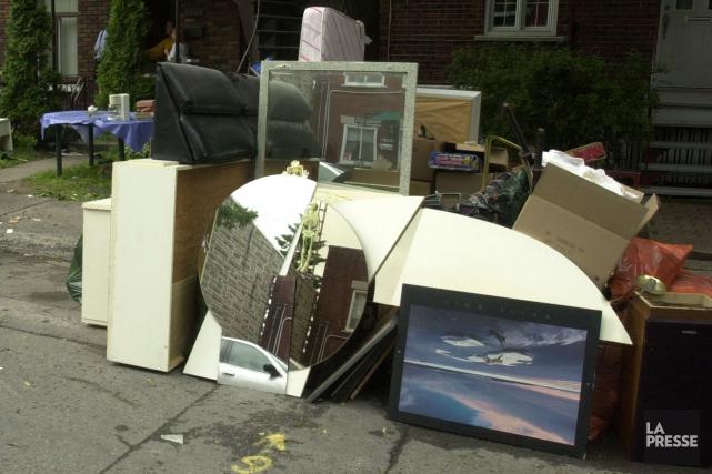 Après une année d'accalmie, Sherbrooke renoue avec la crise du logement. À... (Archives La Presse)