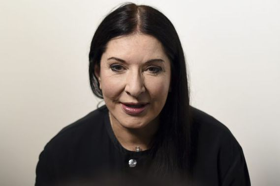 Marina Abramovic... (PHOTO AFP)
