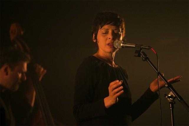 Mélanie De Biasio... (PHOTO FRÉDÉRIQUE MÉNARD-AUBIN, FOURNIE PAR SPECTRA)