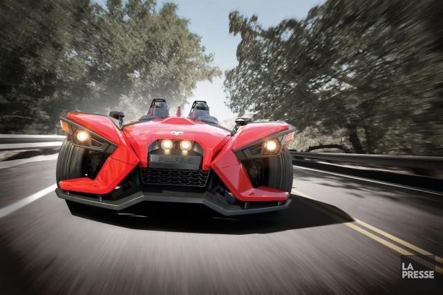 Le véhicule Spyder du manufacturier estrien BRP a un nouveau concurrent. Son... (Archives La Presse)