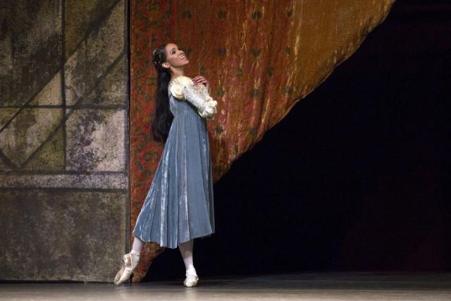 Misty Copelanda fait en avril la couverture de... (Photo Rosalie O'Connor/American Ballet Theatre, AP)