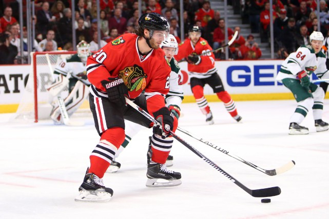 Brandon Saad... (PHOTO ARCHIVES USA TODAY)