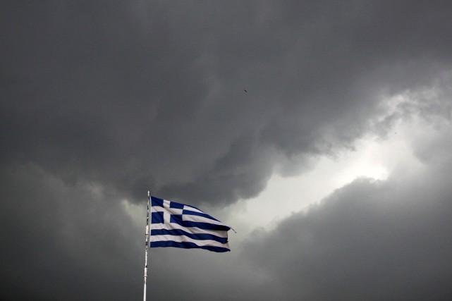 Athènes devra donc désormais se passer de l'argent... (Photo Alkis Konstantinidis, Reuters)