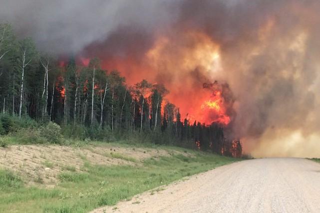 On a enregistré jusqu'ici cette année 522 incendies... (PHOTO LA PRESSE CANADIENNE/COURTOISIE)