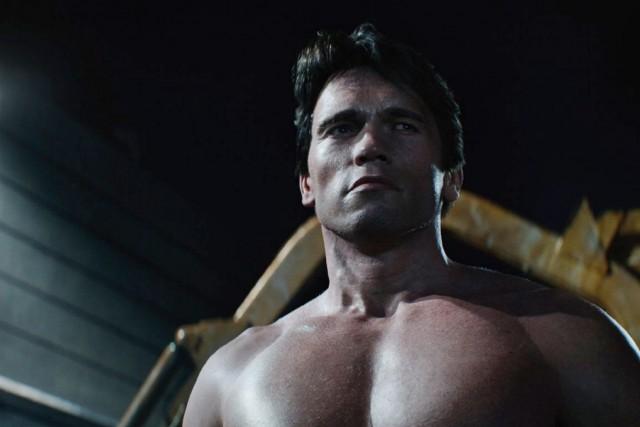 Le Terminator d'Arnold Schwarzenegger apparaît à trois âges... (PHOTO FOURNIE PAR PARAMOUNT PICTURES)