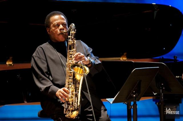 WayneShorter à la Maison symphonique, mardi soir.... (PHOTO OLIVIER JEAN, LA PRESSE)