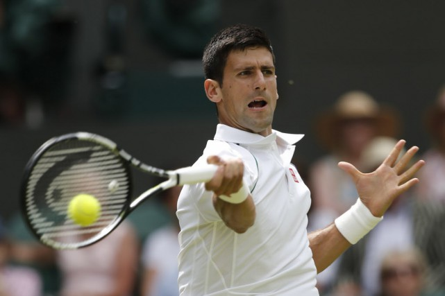 Novak Djokovic... (PHOTO ADRIAN DENNIS, AFP)