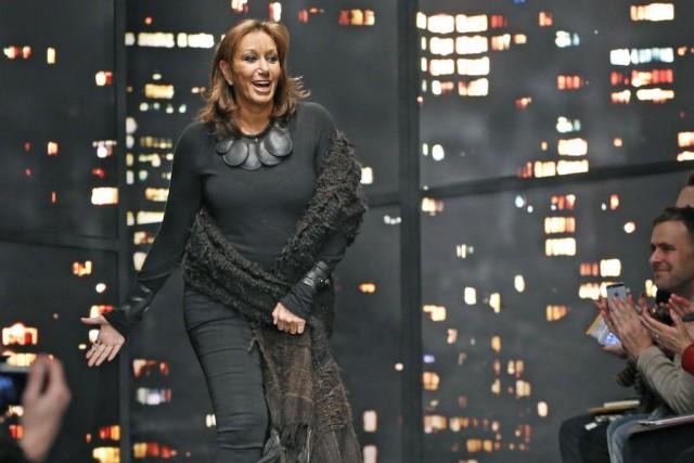 Donna Karan reste au sein de l'entreprise, rachetée... (Photo Kathy Willens, AP)