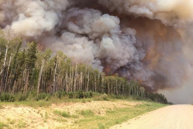 Selon le ministre saskatchewanais, la fumée a fait... (PHOTO LA PRESSE CANADIENNE/COURTOISIE)