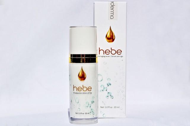 hebe est un sérum antiâge frais, composé seulement... (Photo fournie par Hebederma)