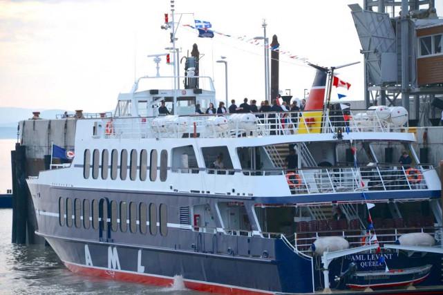 Le nouveau bateau AML Levant a effectué sa... (Collaboration spéciale Johanne Fournier)