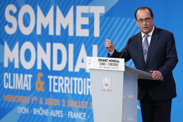 Le président français, François Hollande... (Photo Ian Langsdon, Reuters)