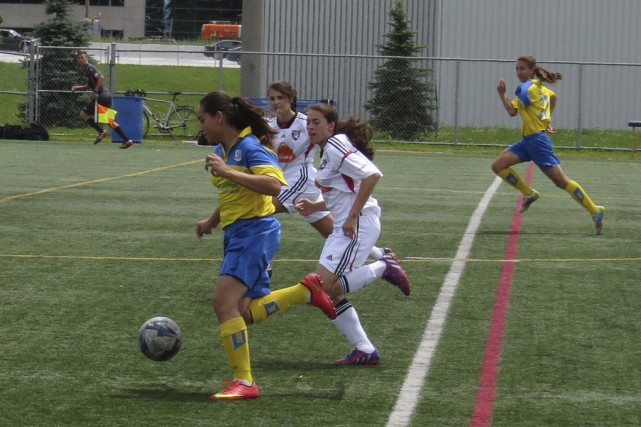 À leur première saison en Ligue de soccer... (photo guy vincelette)