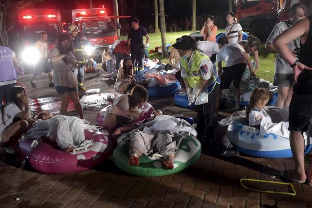Les causes exactes du drame sont encore indéterminées,... (Photo Wang Wei, Reuters)