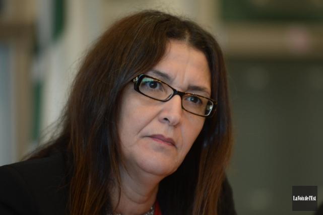L'ex-rectrice Nadia Ghazzalia dû quitter ses fonctions le... (PHOTO ARCHIVES LA VOIX DE L'EST)