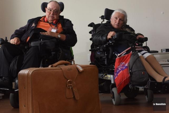 Serge Boisvert et Johanne Parenteau doivent être relocalisés... (Photo: François Gervais, Le Nouvelliste)
