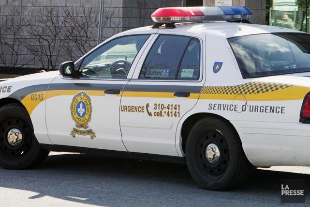Les policiers de la MRC de l'Érable ont procédé, mardi, au démantèlement de... (Archives La Presse)
