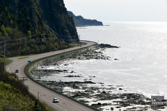Paysage de La Martre en Gaspésie.... (PHOTO FRANÇOIS ROY, LA PRESSE)