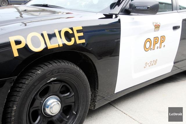 Un homme est mort en traversant l'autoroute 417, mercredi soir. (Patrick Woodbury, LeDroit)