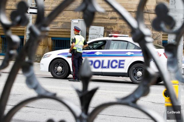 Deux hommes ont été poignardés mercredi soir à Ottawa. (Patrick Woodbury, Archives LeDroit)