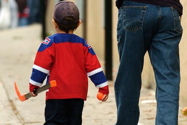 La pratique de sport organisé chez les enfants... (PHOTO BERNARD BRAULT, ARCHIVES LA PRESSE)