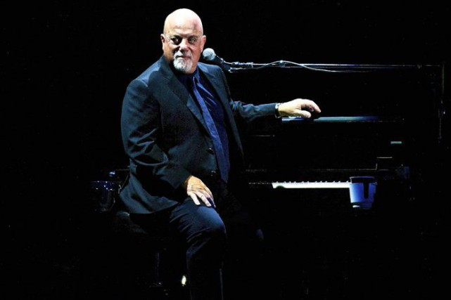 Billy Joel lors de son 65e spectacle au... (PHOTO AP)