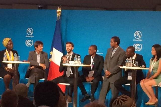 Un Félicinois participe au Sommet mondial Climat et Territoires qui se déroule... (Courtoisie)