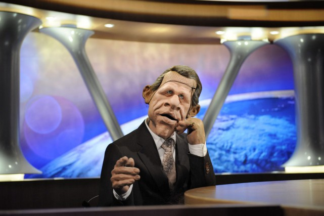La menace d'un clap de fin des Guignols de l'info suscite un tollé en... (PHOTO ARCHIVES AFP)