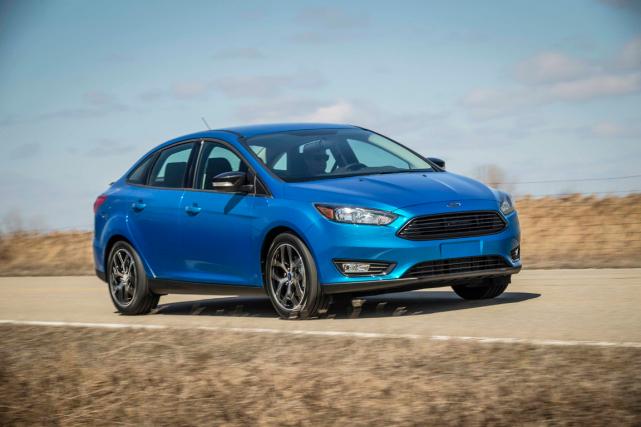 La Ford Focus 2015... (Photo fournie par Ford)