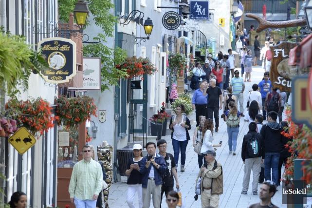 La rue du Petit-Champlain... (Photothèque Le Soleil, Jean-Marie Villeneuve)